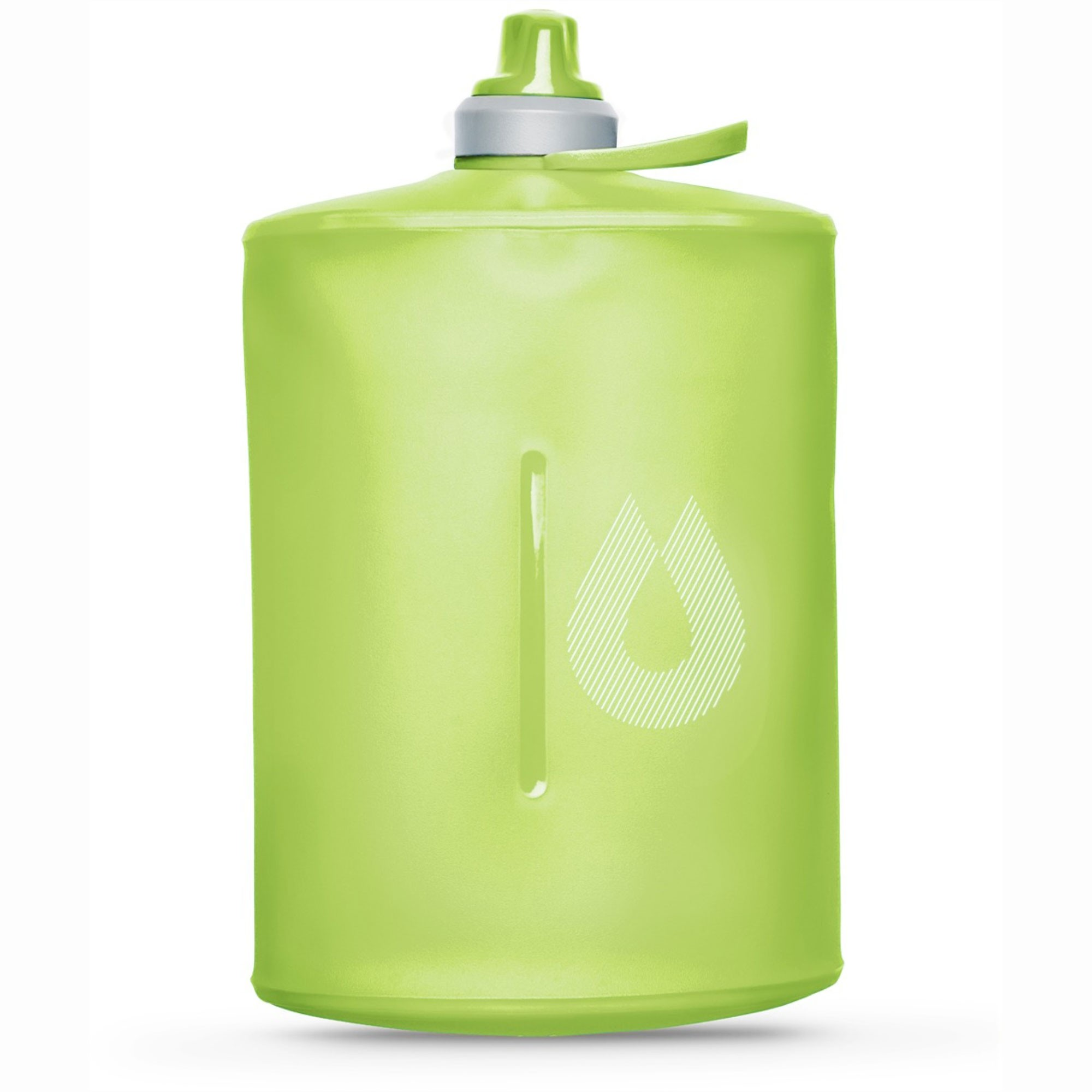 Hydrapak Stow 1L Collapsible Bottle - Sequoia Green