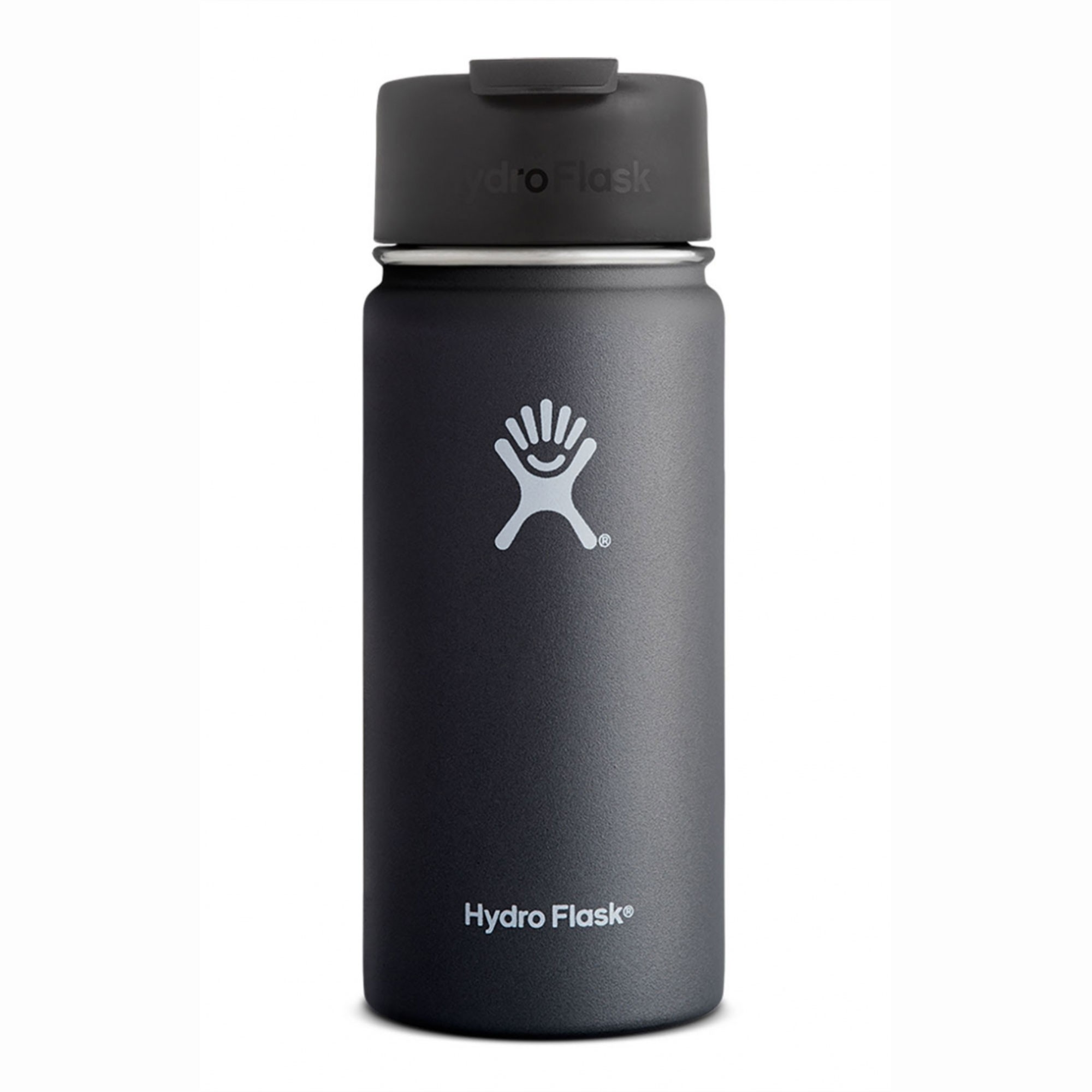 HYDRO FLASK - 16oz Wide Mouth Flask - Black