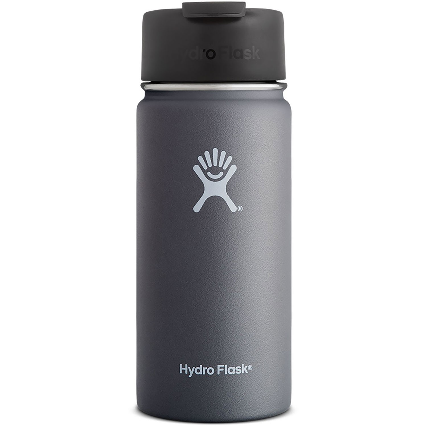 HYDRO FLASK - 16oz Wide Mouth Flask - Graphite
