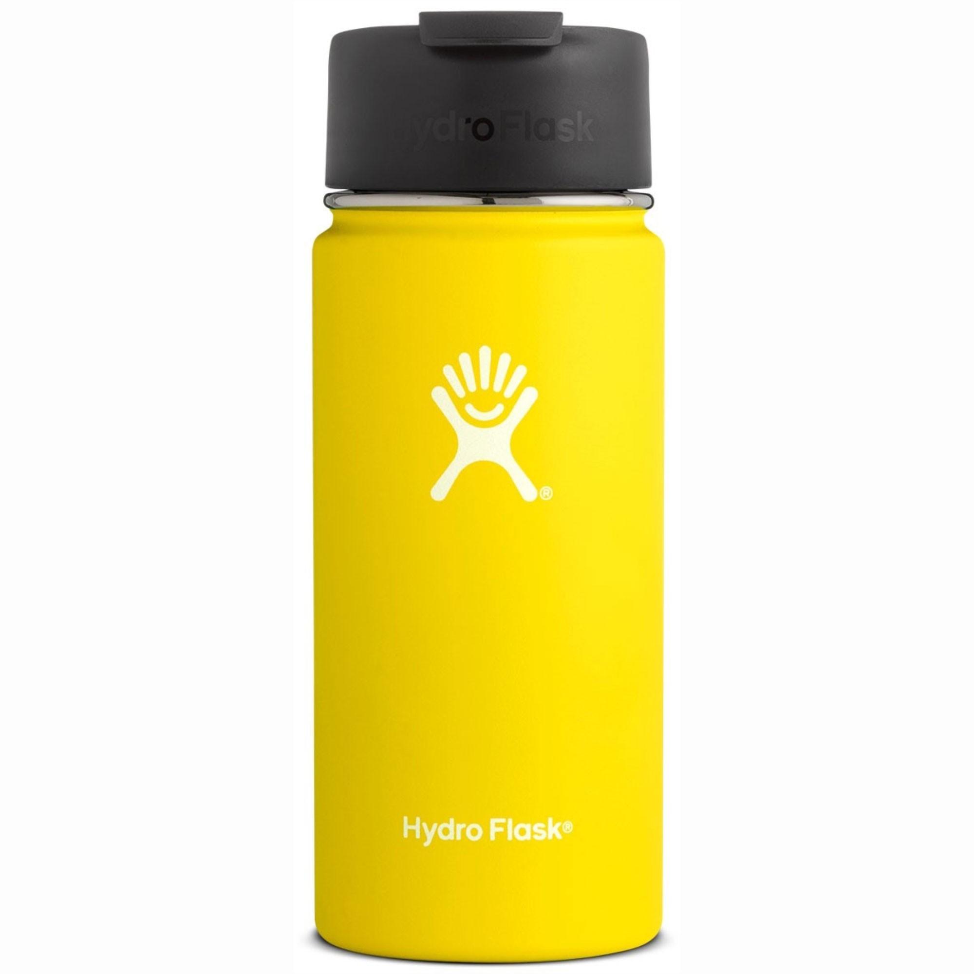 HYDRO FLASK - 16oz Wide Mouth Flask - Lemon