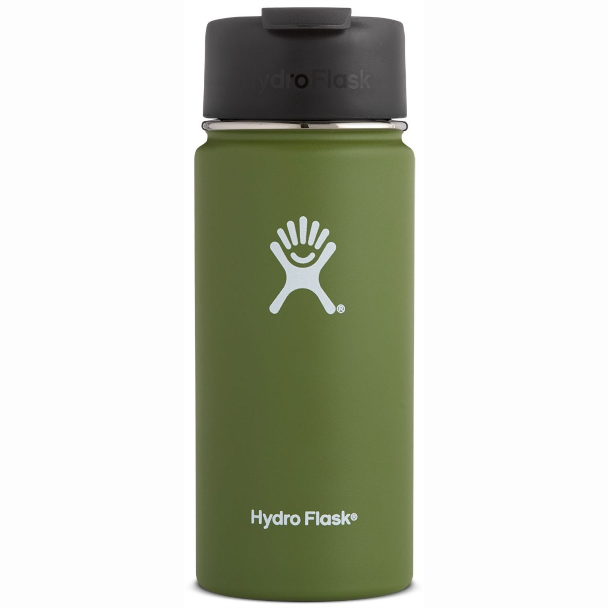HYDRO FLASK - 16oz Wide Mouth Flask - Olive