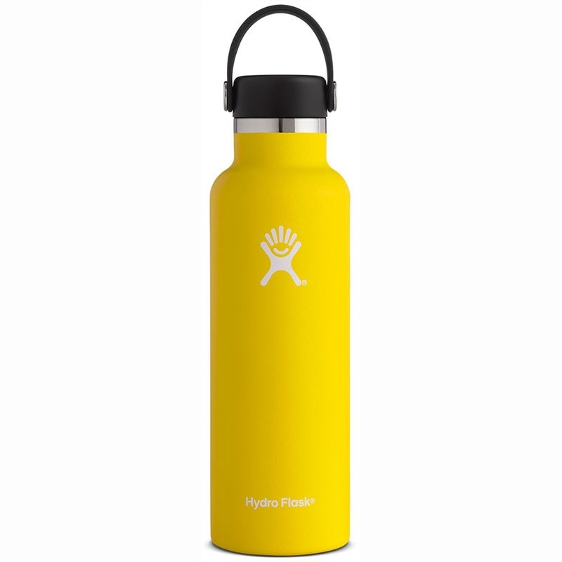 HYDRO FLASK - 21oz Insulated Bottle - Lemon