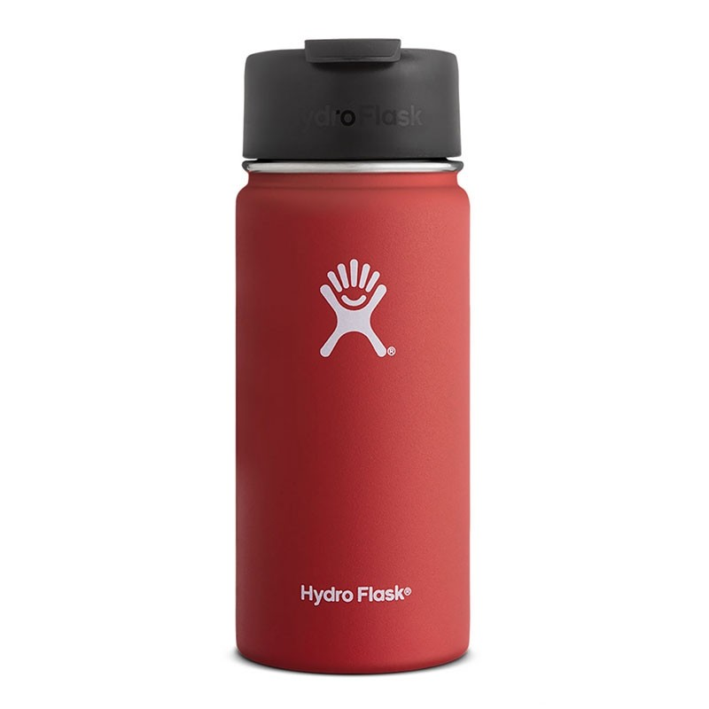 HYDRO FLASK - 16oz Wide Mouth Flask - Lava