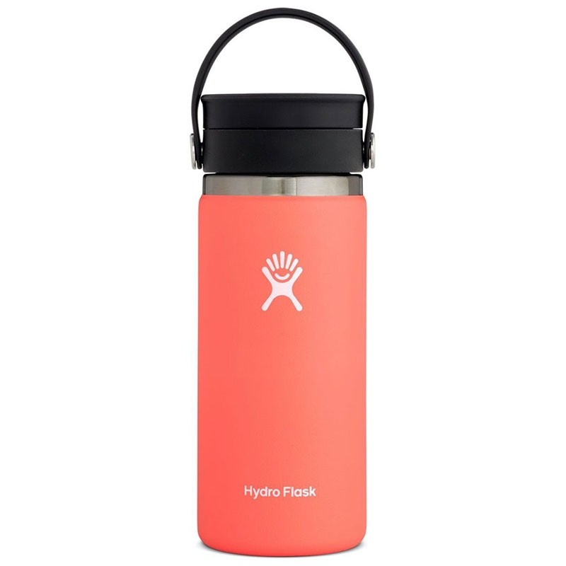 Hydro Flask 16 oz Wide Mouth/Flex Sip - Hibiscus