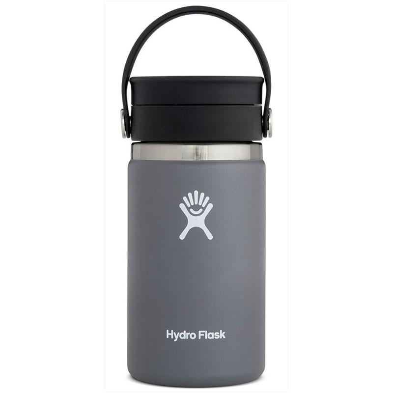 HYDRO FLASK - 12oz Wide Mouth Flask - Stone