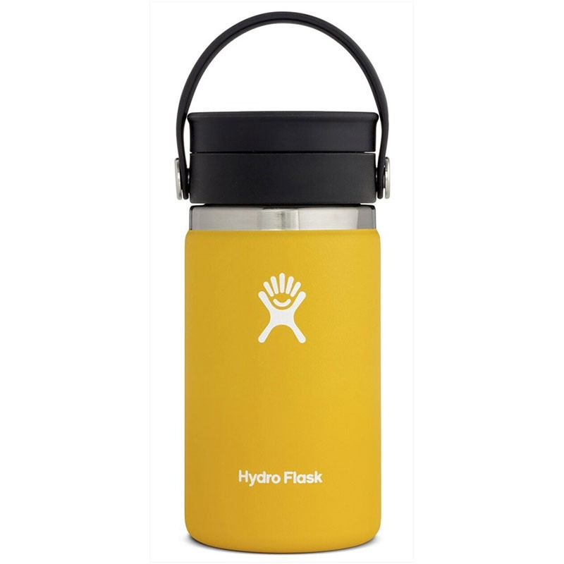 HYDRO FLASK - 12oz Wide Mouth Flask - Sunflower