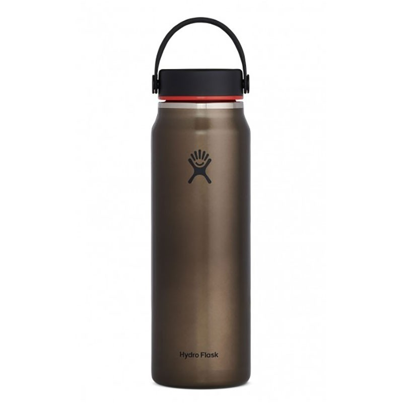 Hydro Flask 32 oz Lightweight Wide Mouth Trail Series Insulated Bottle - Obsidian