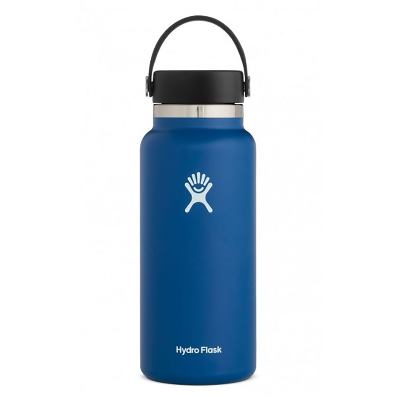 HYDRO FLASK - 32oz Wide Mouth Insulated Bottle - Cobalt