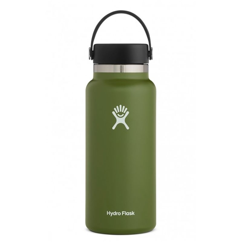HYDRO FLASK - 32oz Wide Mouth Insulated Bottle - Olive