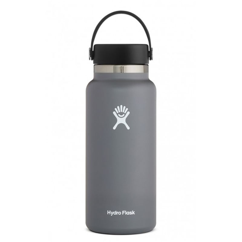 HYDRO FLASK - 32oz Wide Mouth Insulated Bottle - Stone