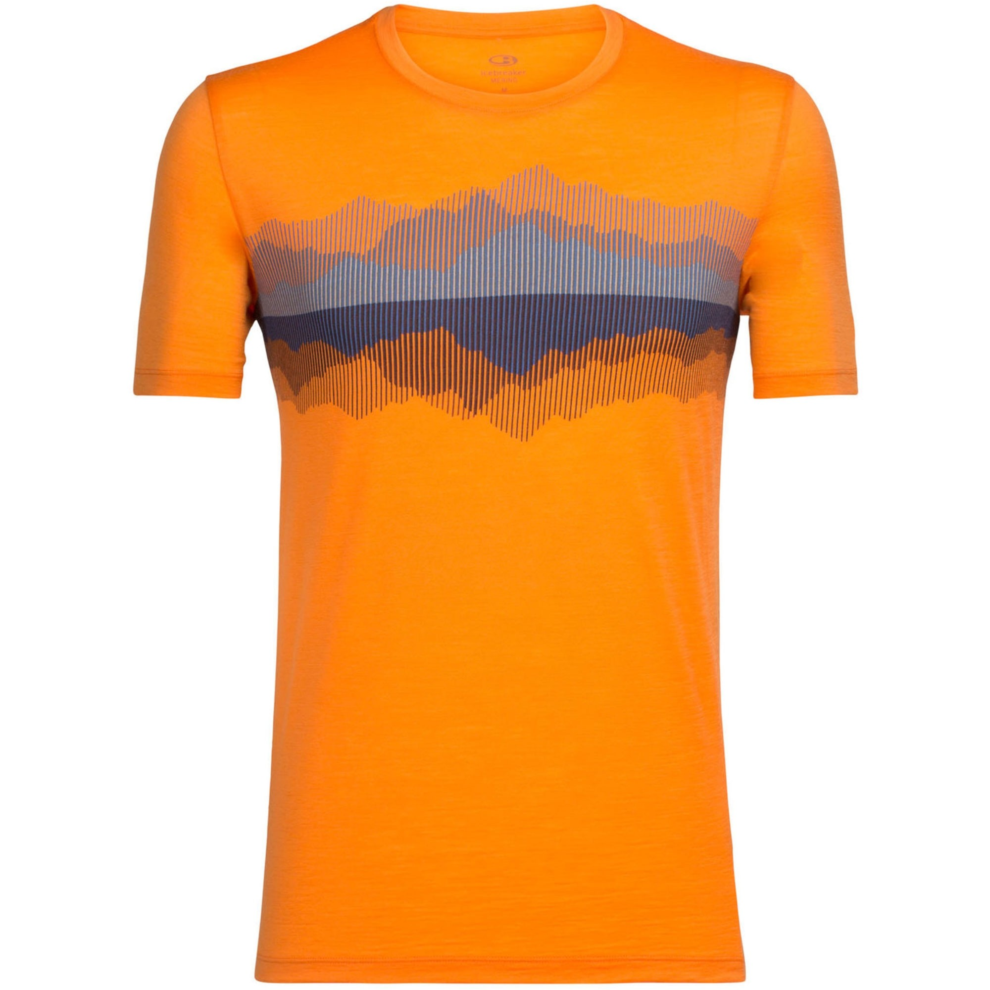 Icebreaker Tech Lite SS Crewe Merino T-Shirt - Cook Reflected - Koi