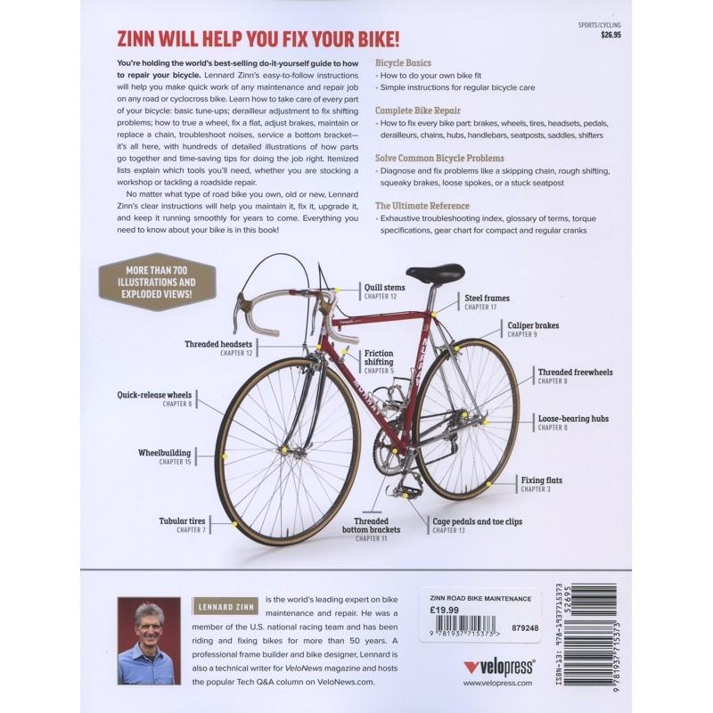 Zinn & the Art of Mountain Bike Maintenance by VeloPress