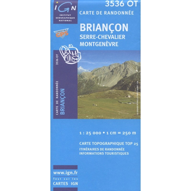 Briancon 3536 OT IGN map by IGN