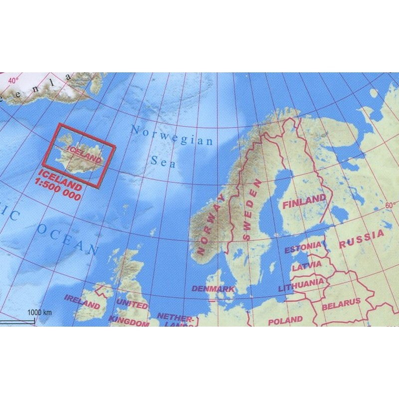 Iceland Adventure Map by terraQuest
