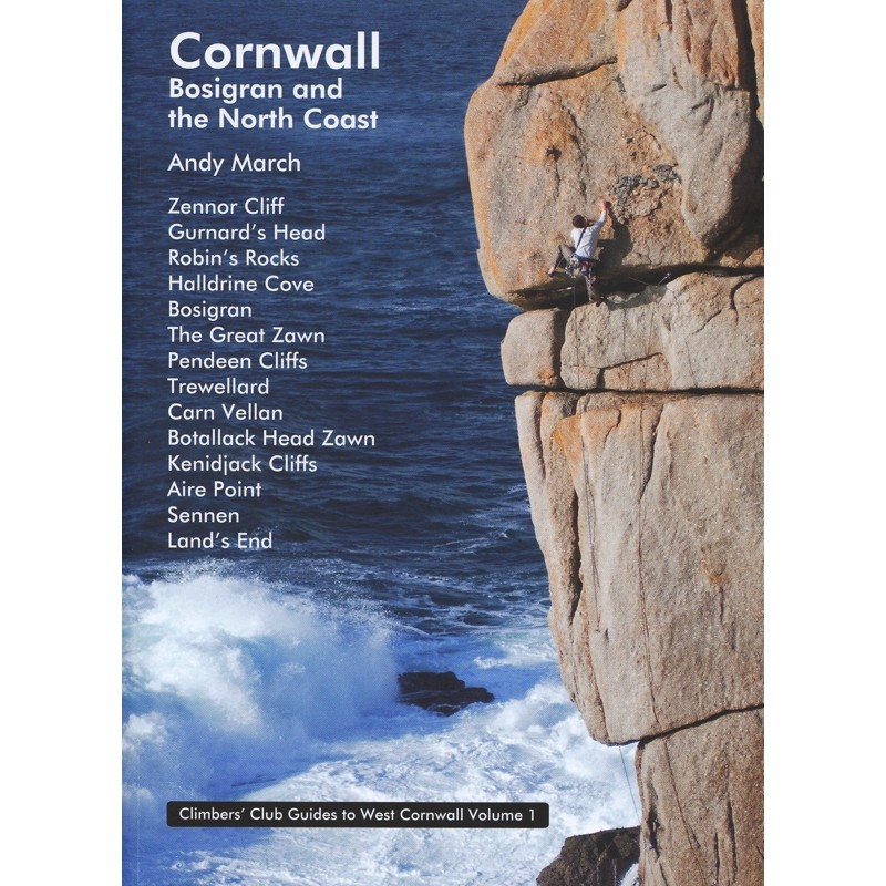 West Cornwall: Bosigran and the North Coast - Volume 1 by Climbers Club