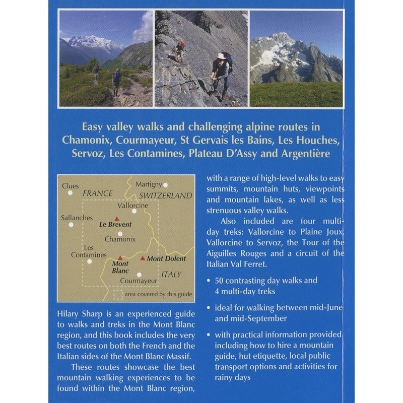Mont Blanc Walks: 50 day walks and 4 multi-day treks by Cicerone