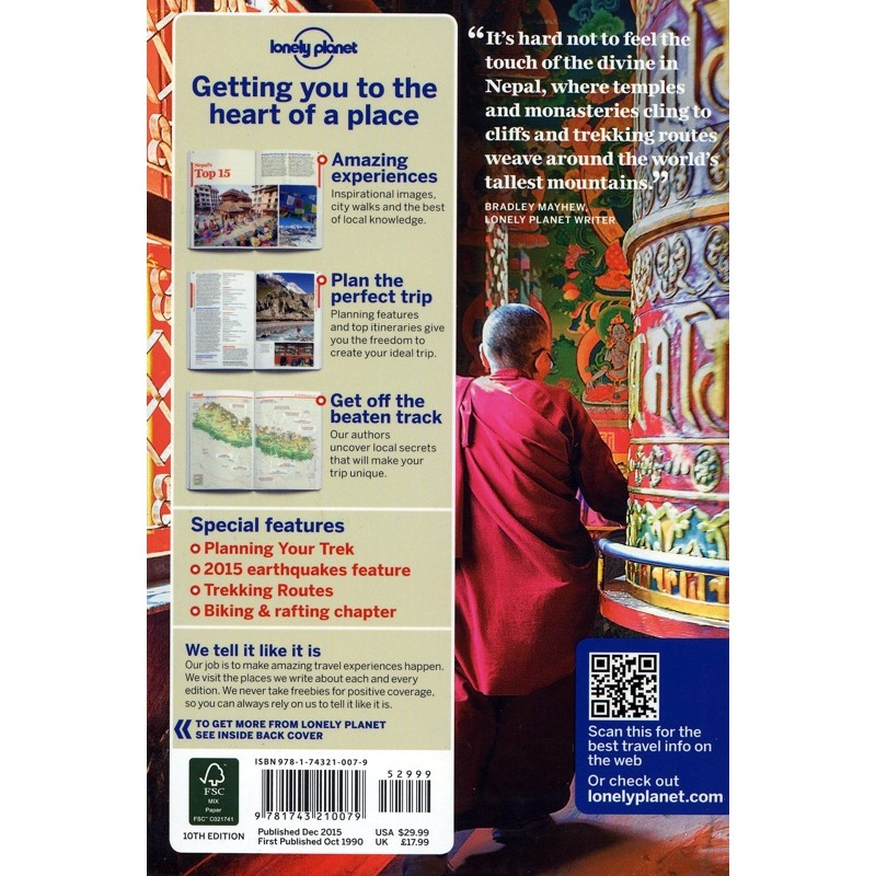 Nepal by Lonely Planet