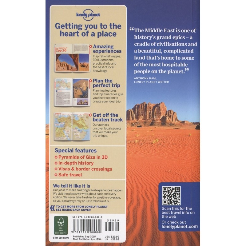 Middle East by Lonely Planet