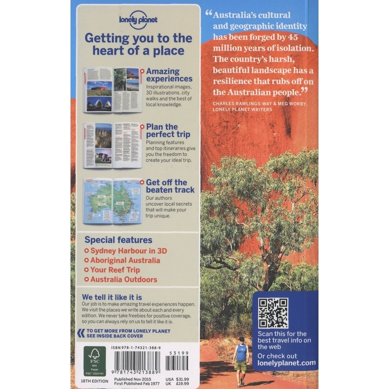 Australia by Lonely Planet