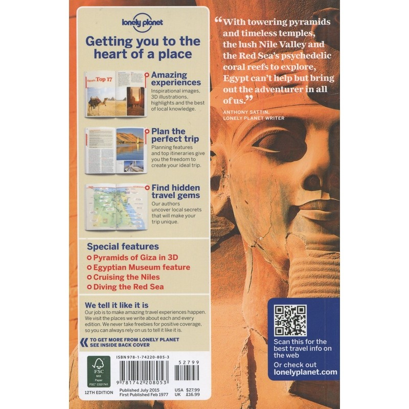 Egypt by Lonely Planet