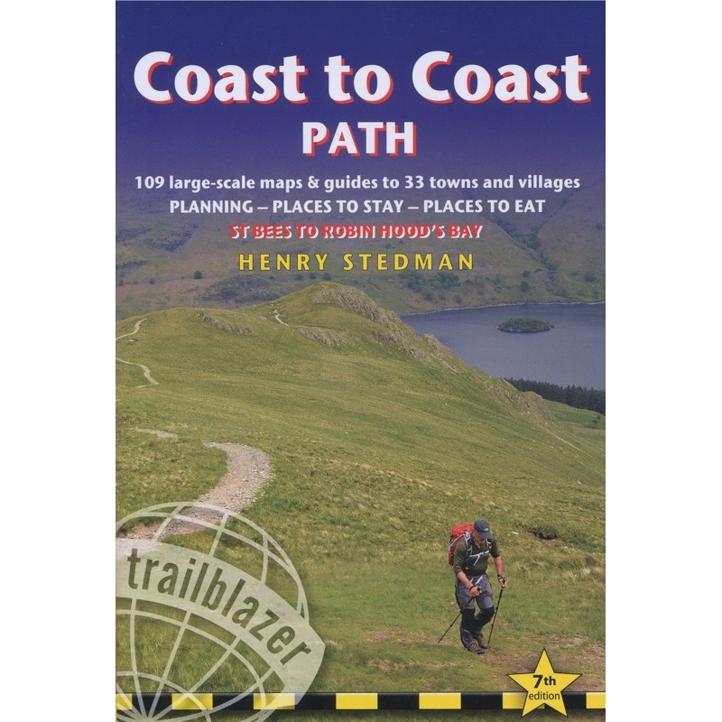 Coast to Coast Path: St Bees to Robin Hoods Bay by Trailblazer Guides