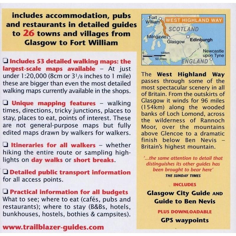 West Highland Way: Glasgow to Fort William by Trailblazer Guides