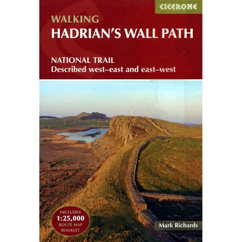 Walking Hadrians Wall Path by Cicerone