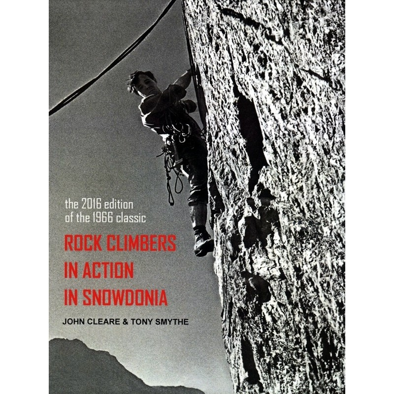 Rock Climbers in Action in Snowdonia by Books And Maps