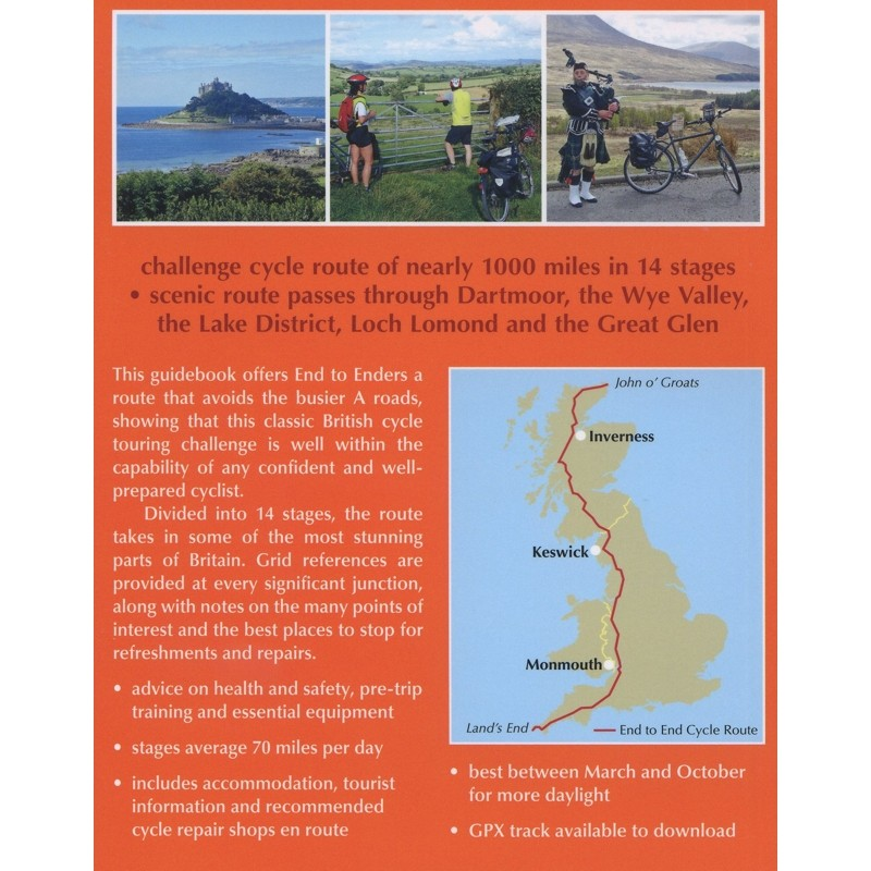 Cycling The End to End Cycle Route: Lands End to John o Groats by Cicerone