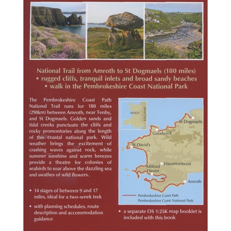 Walking the Pembrokeshire Coast Path: National Trail by Cicerone