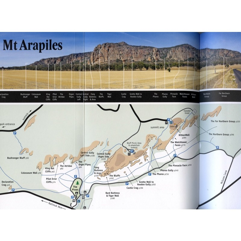 Arapiles: Selected Climbs by Open Spaces