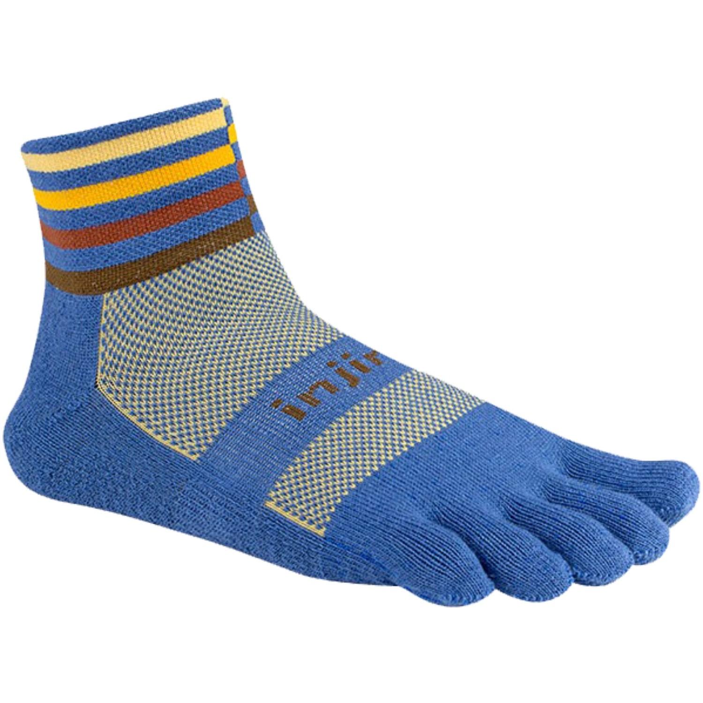 Injinji Trail Mid Weight Mini Crew Toe Socks - Desert
