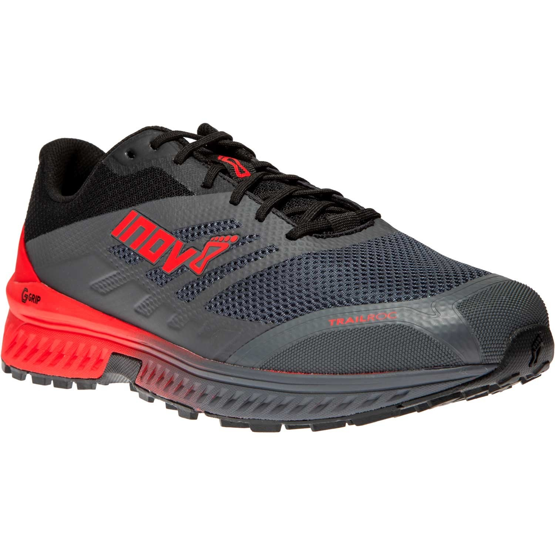 Inov-8 Trailroc G 280 Running Shoe - Men's - Grey/Red