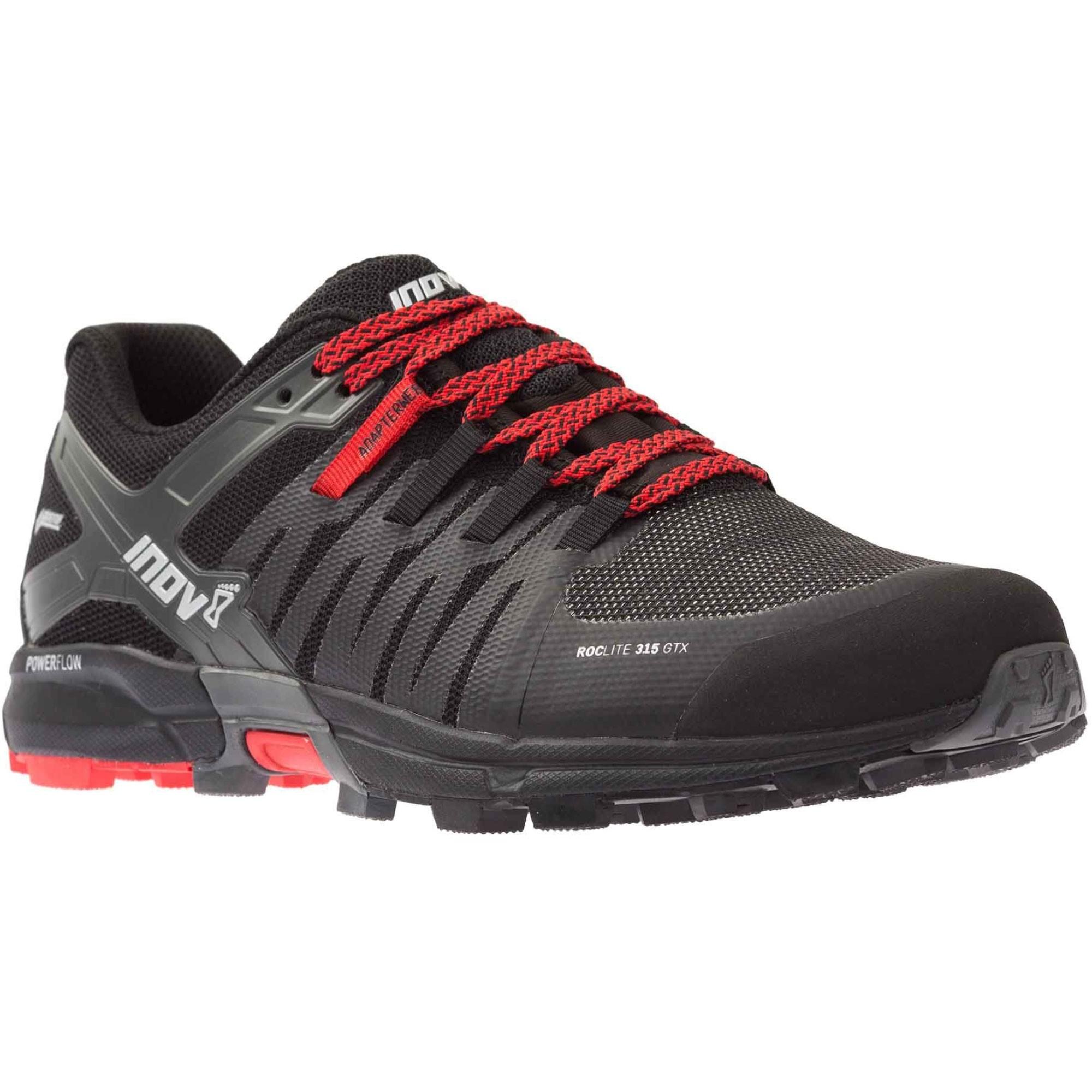 INOV8 Roclite 315 GTX Waterproof Running Shoes - Black/Red
