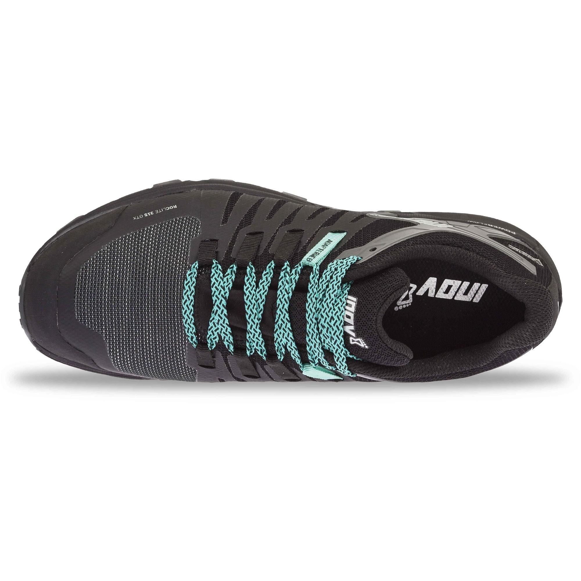 INOV8 Roclite 315 GTX Waterproof Running Shoes - Black/Teal