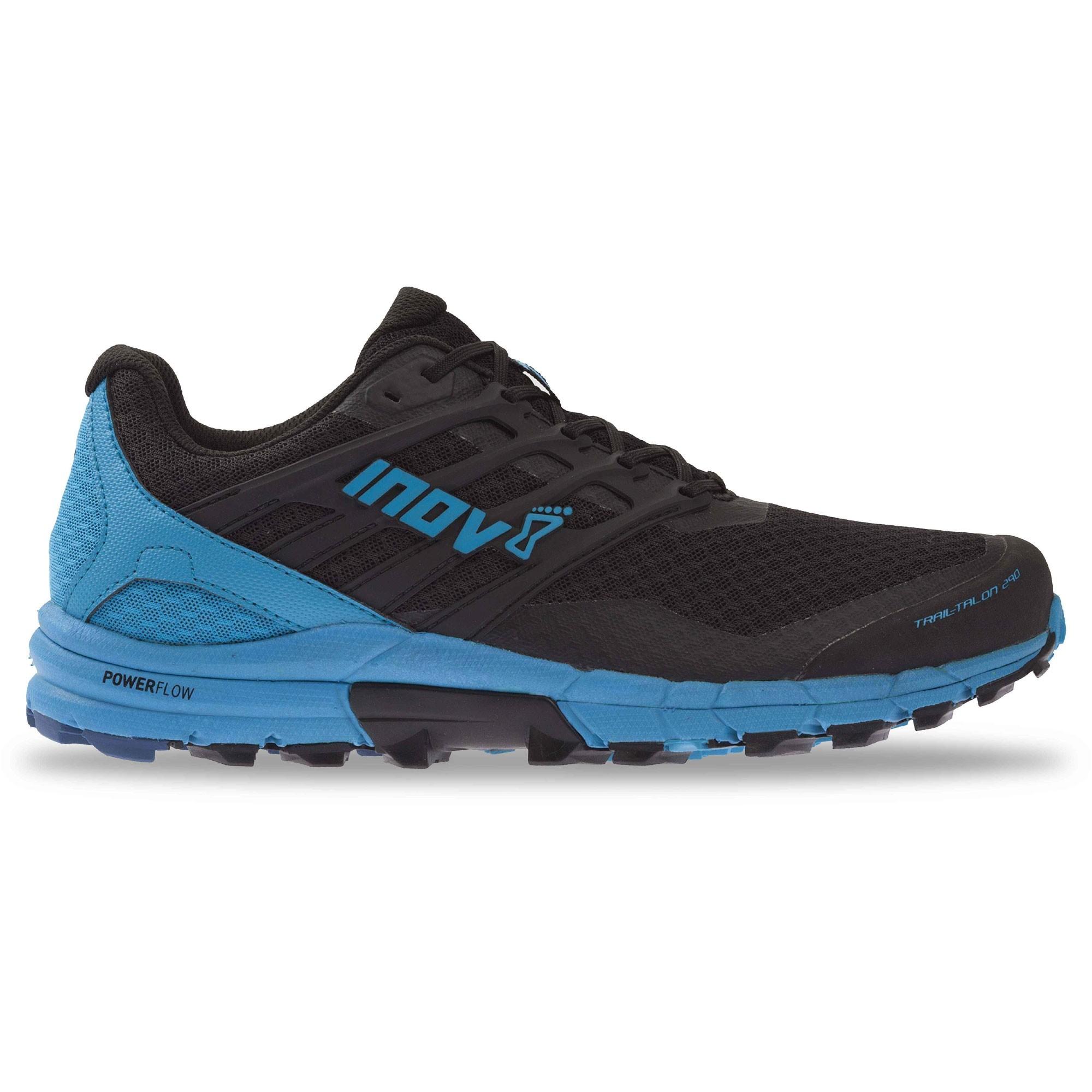 Inov8 Trail Talon 290 Trail Running Shoes - Black/Blue - Side 2