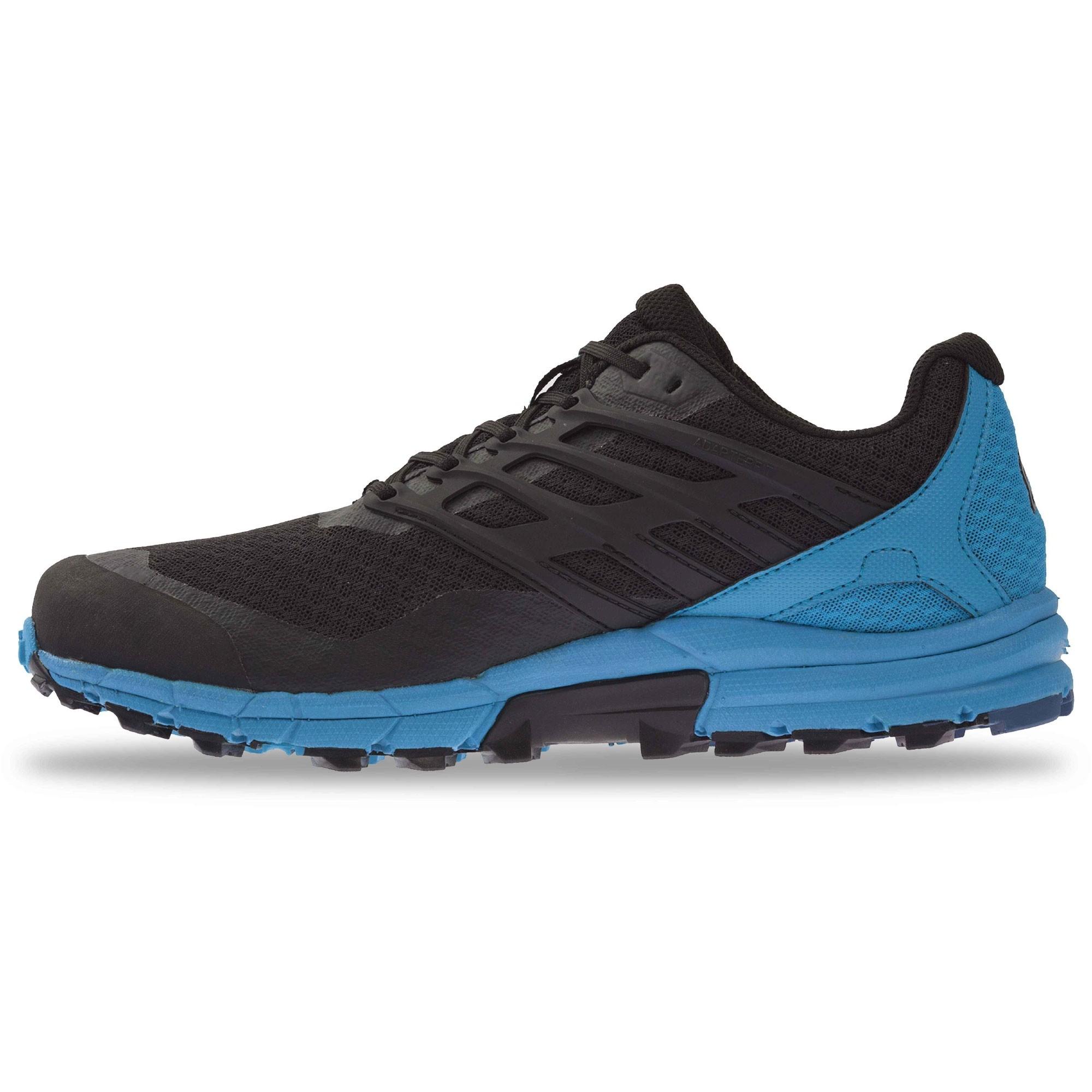 Inov8 Trail Talon 290 Trail Running Shoes - Black/Blue- Side 1