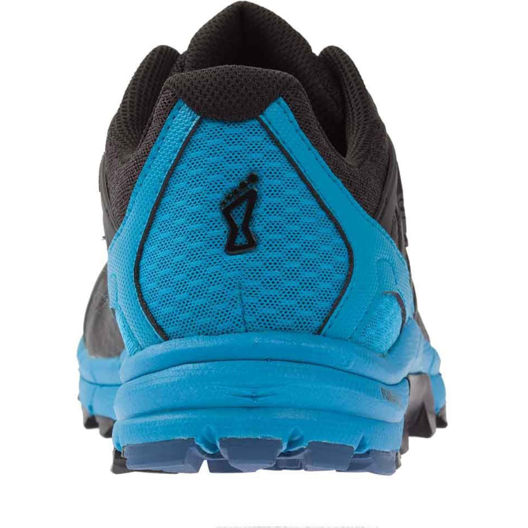 Inov8 Trail Talon 290 Trail Running Shoes - Black/Blue - Heel