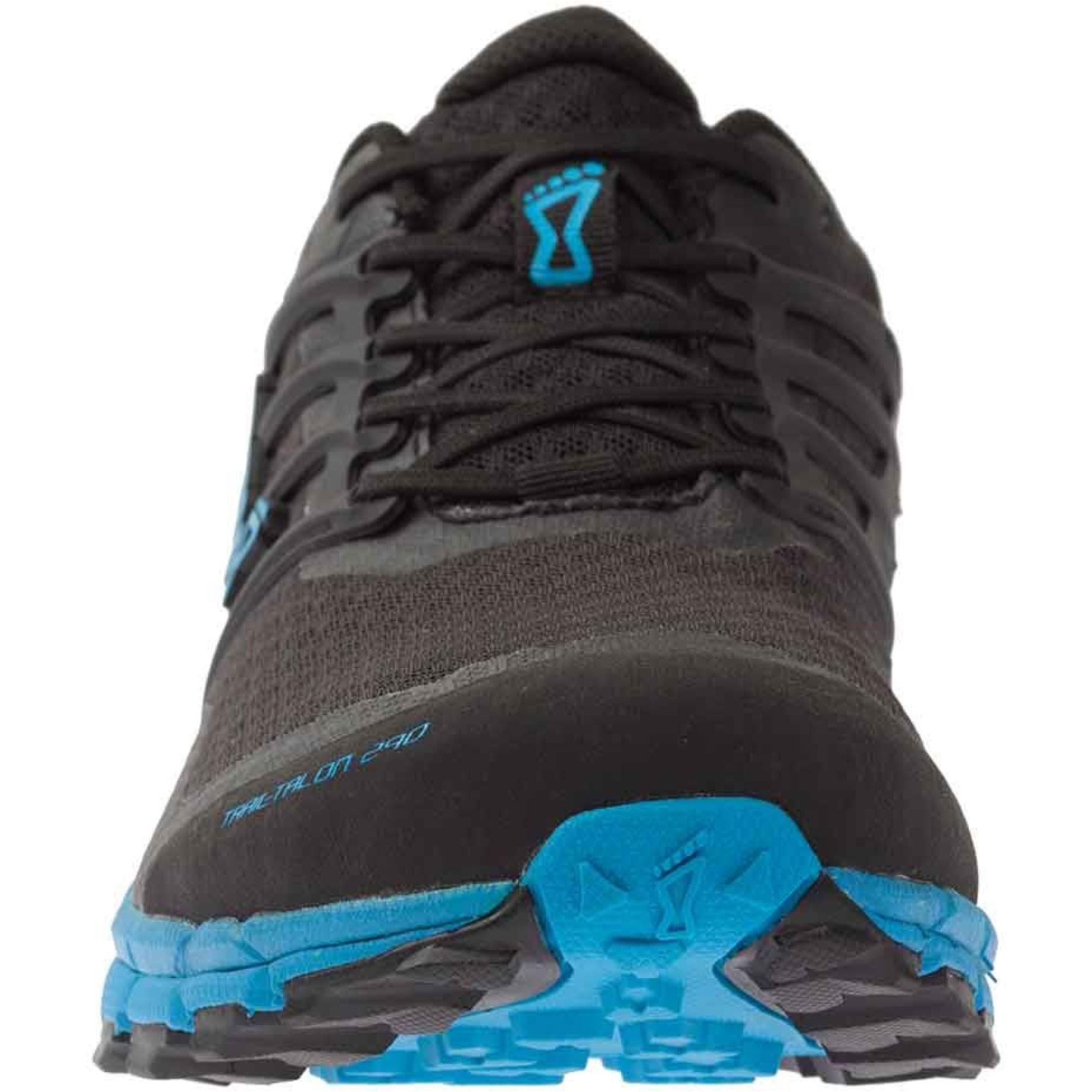 Inov8 Trail Talon 290 Trail Running Shoes - Black/Blue - Toe