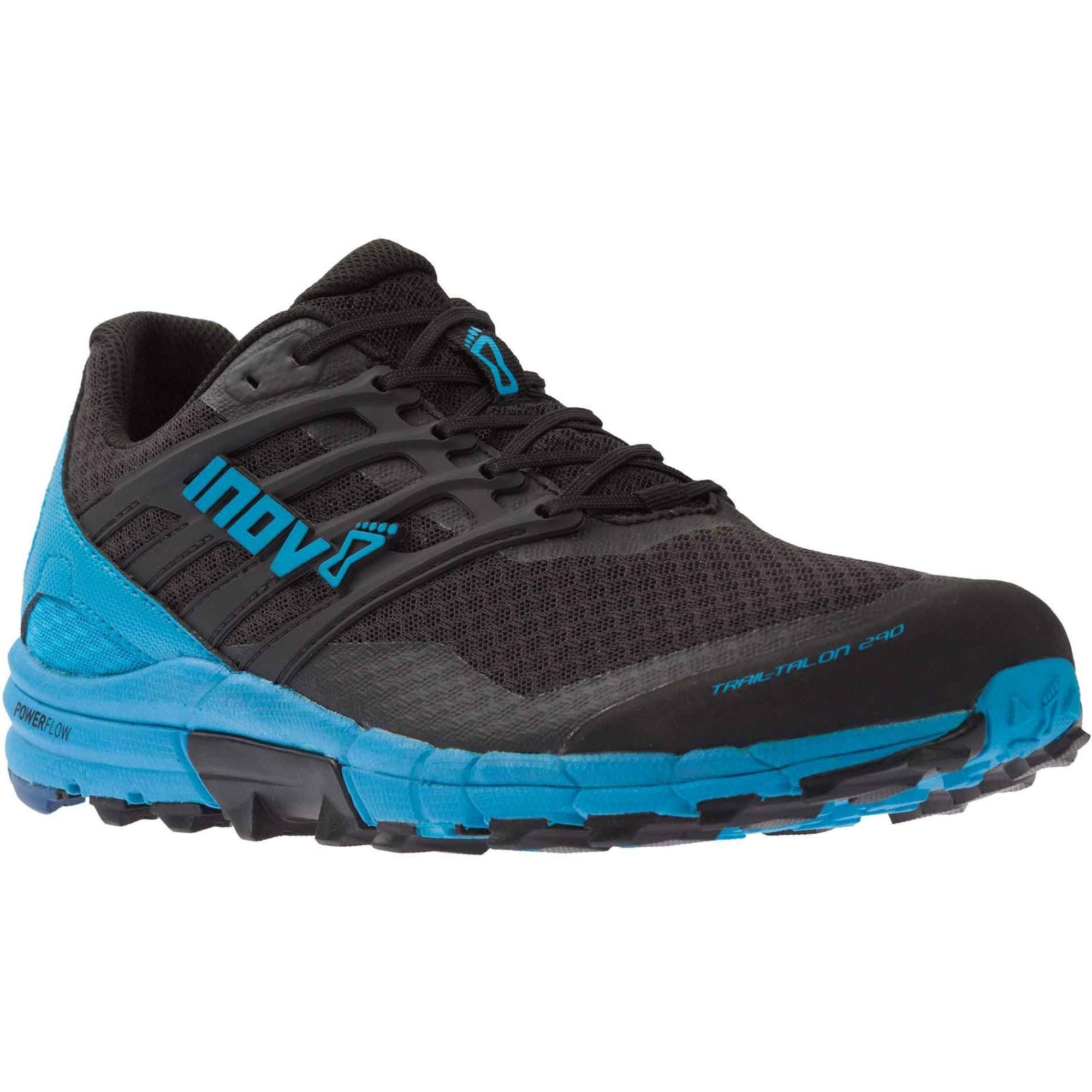 Inov8 Trail Talon 290 Trail Running Shoes - Black/Blue - Angle