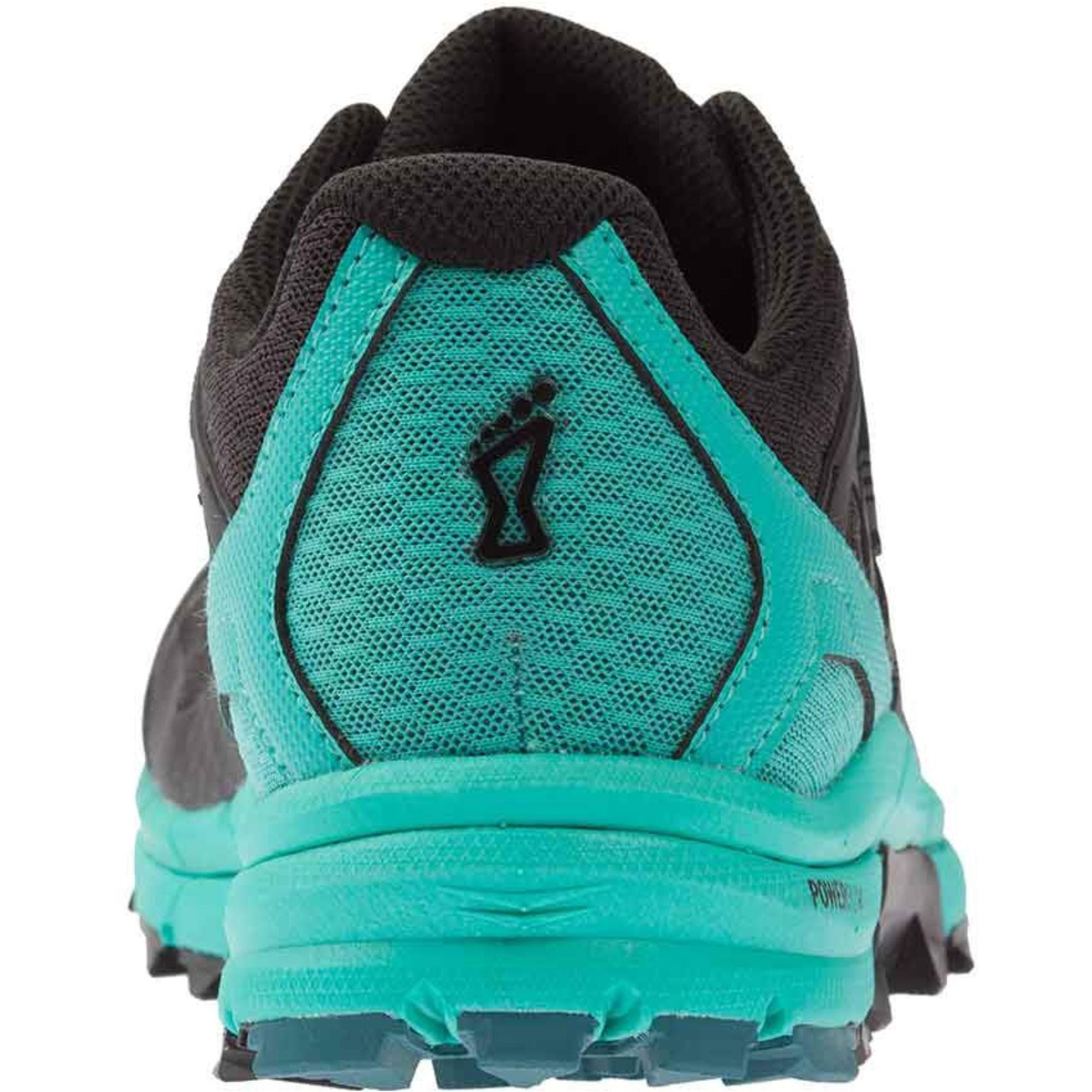 Inov8 Trail Talon 290 Trail Running Shoes - Black/Teal - Heel