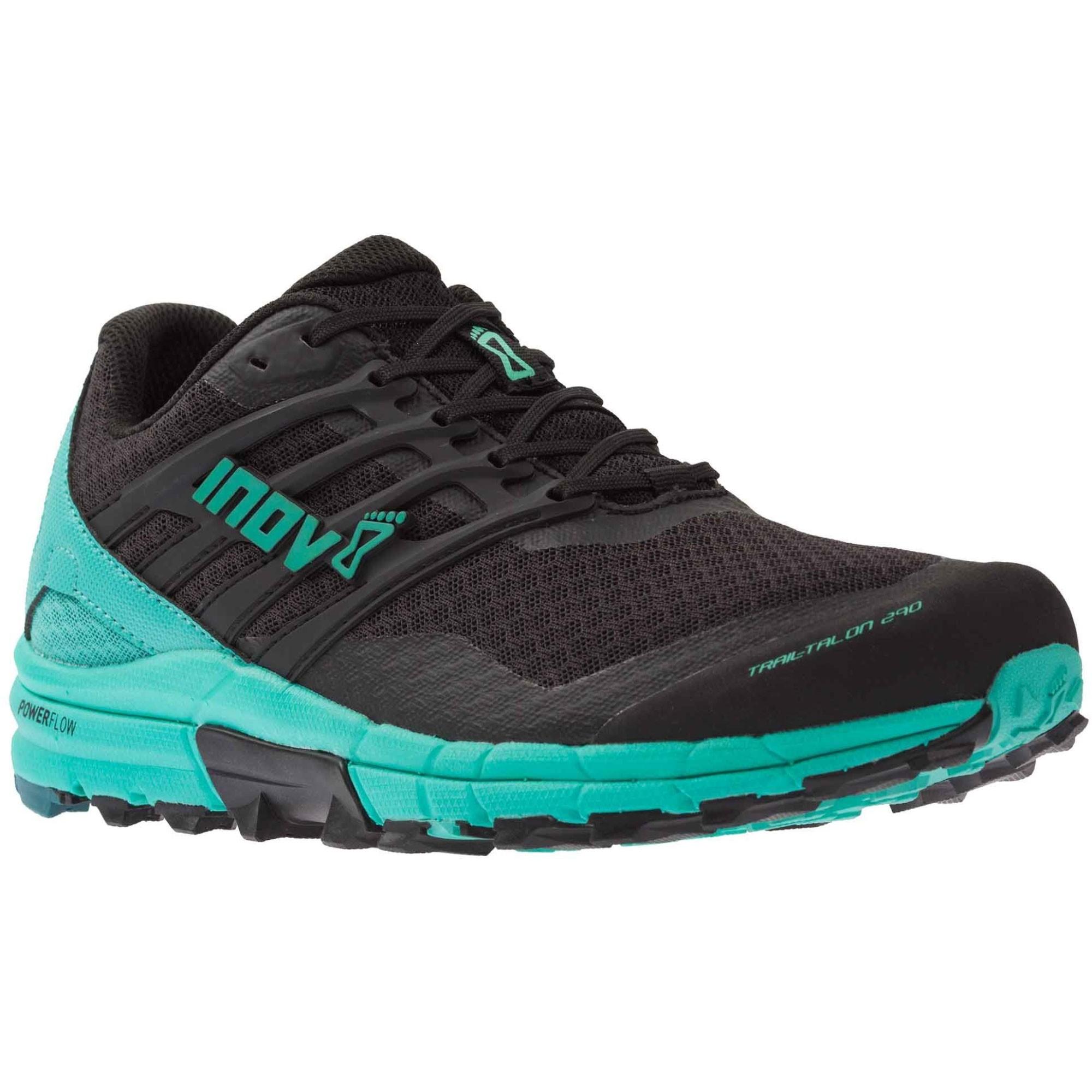 Inov8 Trail Talon 290 Trail Running Shoes - Black/Teal - Angle
