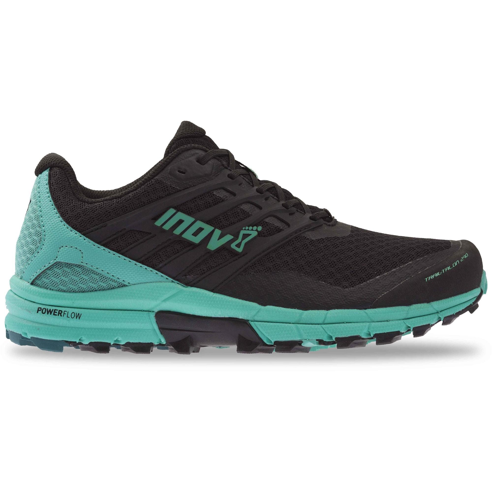 Inov8 Trail Talon 290 Trail Running Shoes - Black/Teal - Side 2