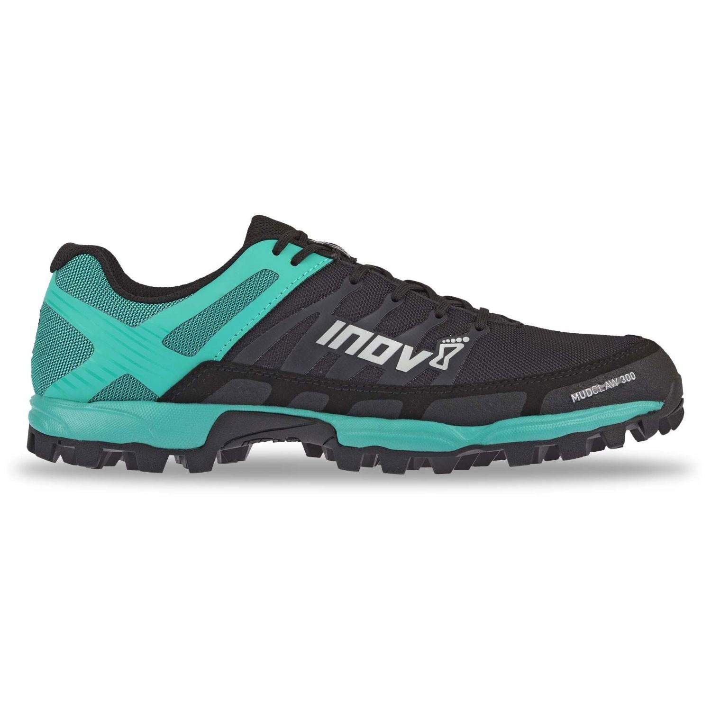 Inov8 Women's Mudclaw 300 Fell Running Shoe - Black/Teal