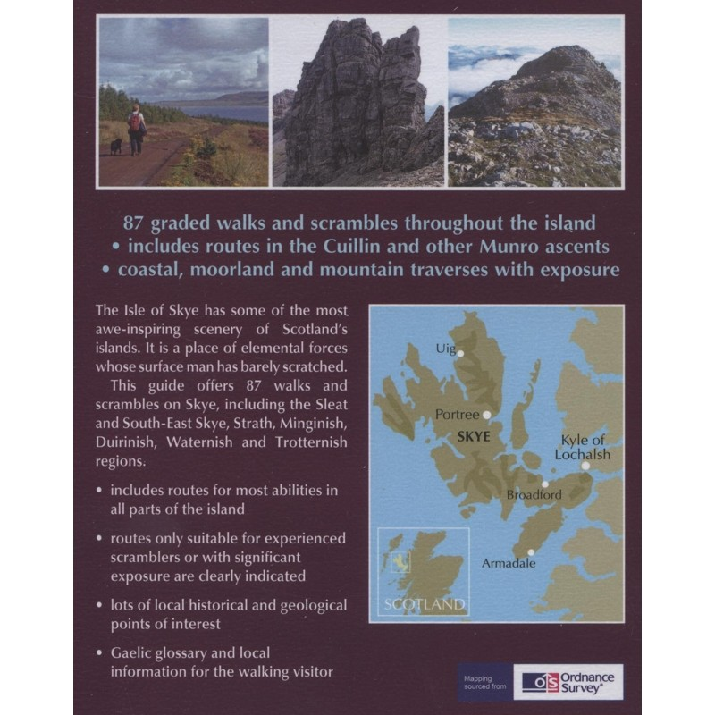 Walking The Isle of Skye: Graded walks and scrambles throughout Skye including the Cuillin by Cicerone