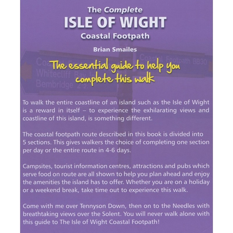 The Complete Isle of Wight Coastal Footpath by Challenge Publications