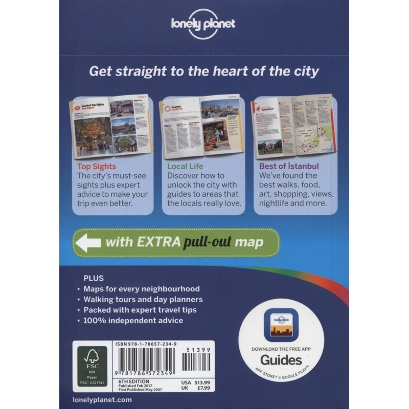 Istanbul: Lonely Planet Pocket City Guide