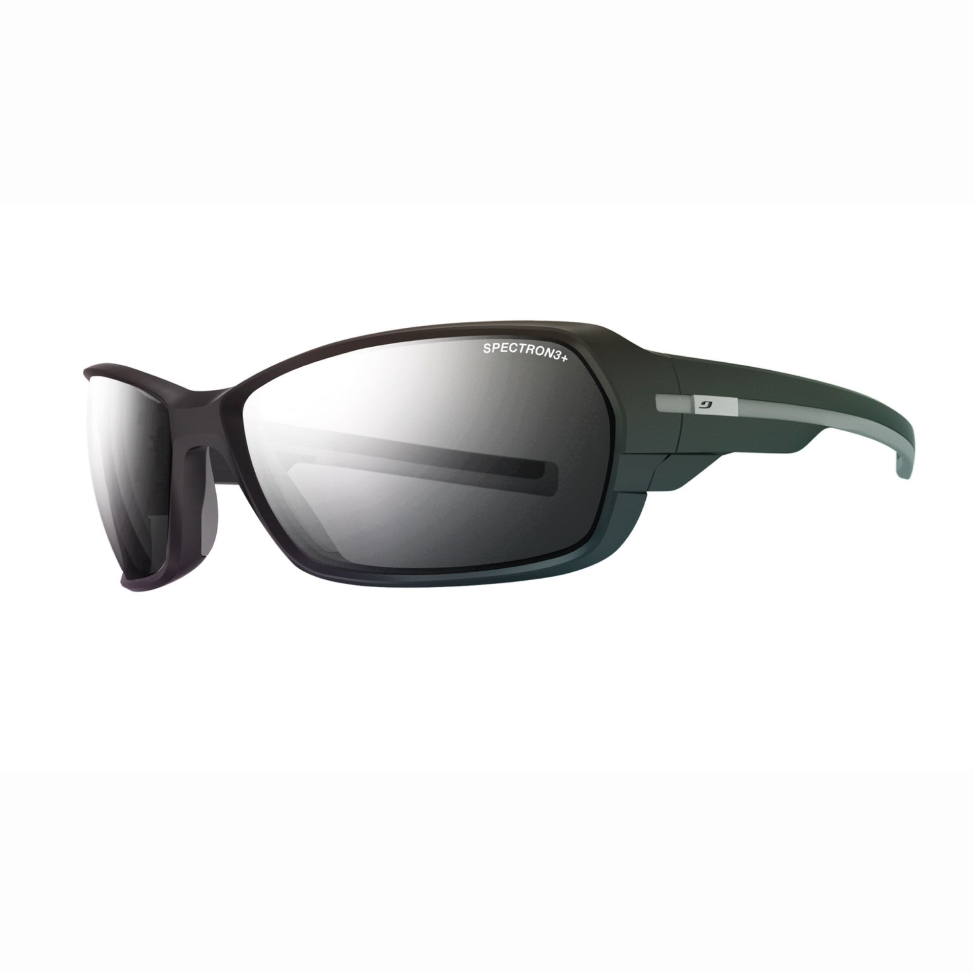 Julbo Dirt 2.0 Spectron 3+ Sunglasses Matt Black/Black