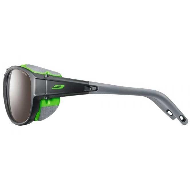 Julbo Explorer 2.0 - Matt Grey / Green - Spectron 4 - Brown Silver Flash Lens