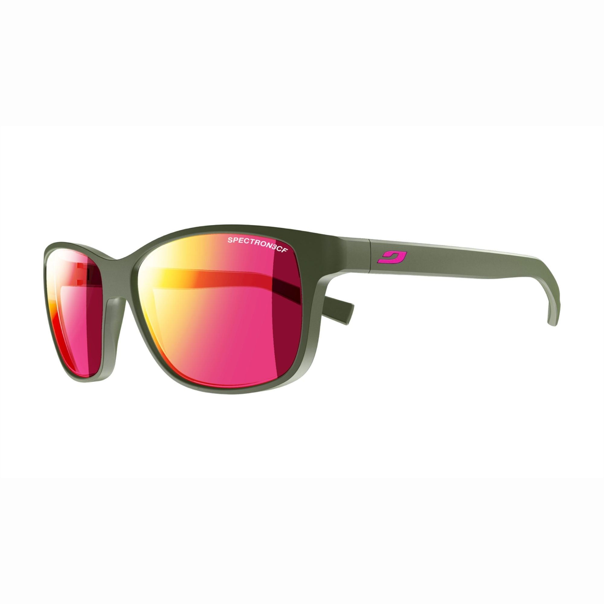 Julbo Powell Sunglasses - Army/Pink - Spectron 3CF